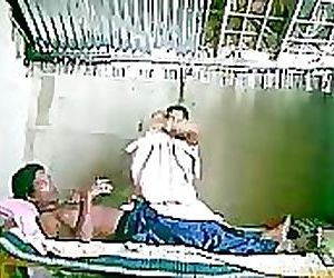 Indian Couple On Webcam