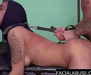 Hard doggy & water torture..