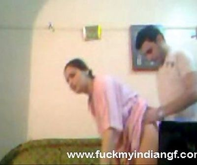 Indian Couple Try Anal Sex -..